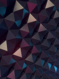 Dark grey abstract surface pattern. 3d rendering