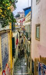 City street. Lisbon, Portugal