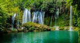 Fototapety  waterfall forest water nature naturel sightseeing recreation