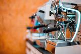 Coffee machines in restaurant