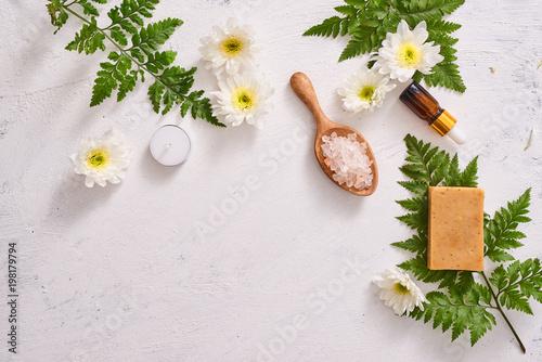 Handmade zbliżenie mydła. Naturalne wytwarzanie mydeł. Mydła barów zbliżenie. Zabiegi spa, koncepcja pielęgnacji skóry