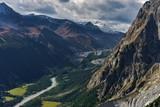 Vista dallo Skyway per il Monte Bianco