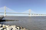 Vasco-da-Gama-Brücke, Ponte Vasco da Gama, Baubeginn 1995, 17, 2 km Länge, Lissabon, Portugal, Europa