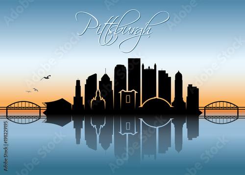 Pittsburgh skyline - Pennsylvania - 198229195