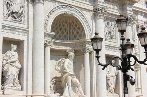 architettura -fontana di trevi