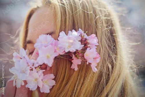 Modella in primavera