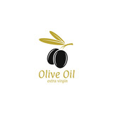 Black olive. logo