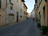 the streets of a small country