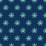 seamless leaf pattern - 198331356