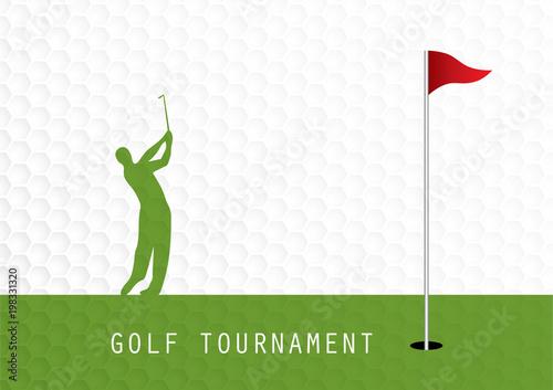 golf tournament invitation flyer template graphic design buy