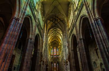 Cattedrale di Praga: vista interna