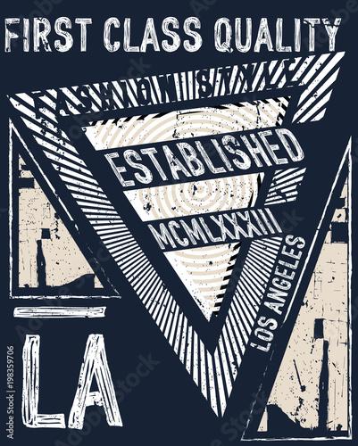 Fashion typography graphic grunge design