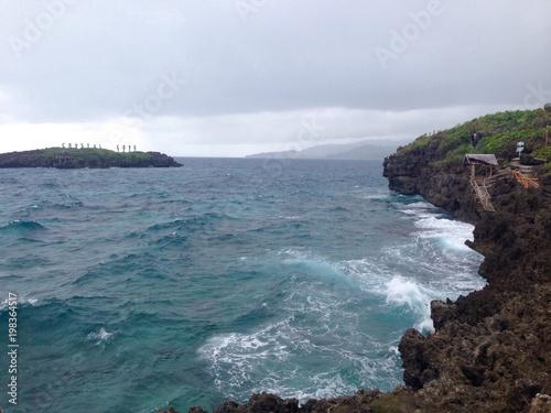 sea near Boracay island, Philippines
