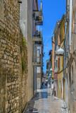Street in Zadar, Croaria