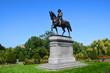 Boston Public Gardens George Washington Statue
