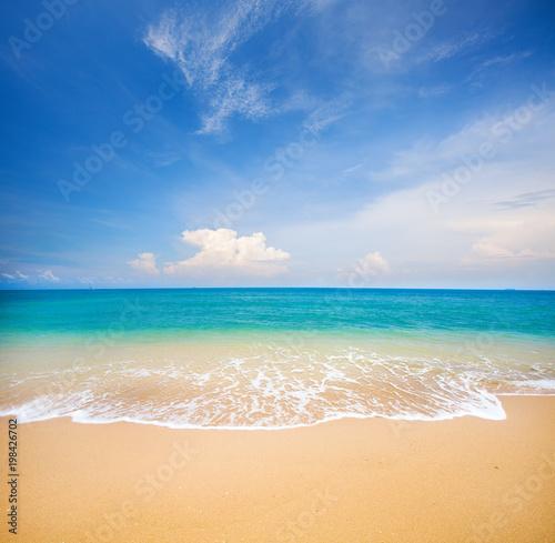 plaża i tropikalne morze