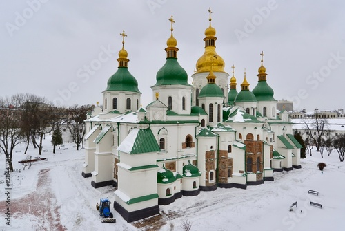 Foto op Plexiglas Kiev キエフの正教会