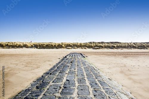 Aluminium Noordzee nature reserve