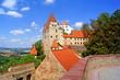 canvas print picture - Burg Trausitz in LANDSHUT ( Bayern )