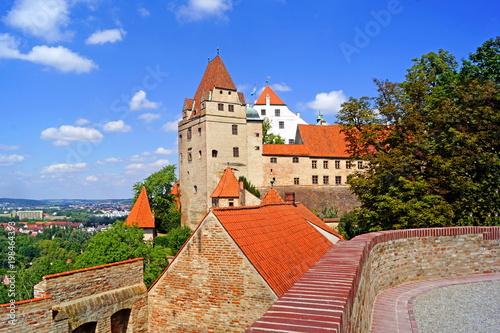 canvas print picture Burg Trausitz in LANDSHUT ( Bayern )