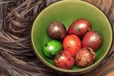 Colorful Speckled Easter Egg - 198465179
