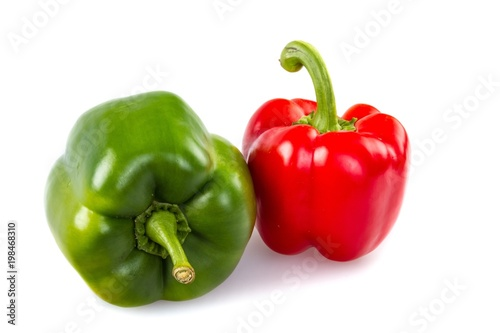 Bell colorful peppers - 198468310