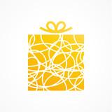 cadeau, vecteur - 198469340
