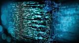 Programmiercode mit technischen Hintergrund - 198469595