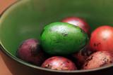 Colorful Speckled Easter Egg - 198473943
