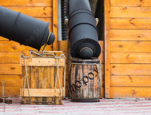 Foto op Plexiglas Schip pirate ship deck