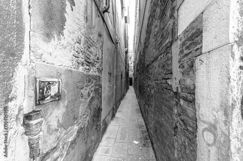 Plexiglas Smalle straatjes Vicolo