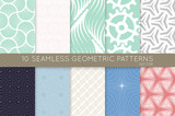 Collection of seamless patterns - 198508502