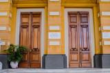 Palácio Rio Branco Frontal e detalhes da Arquitetura histórica, fotografia da fachada e estátua em bronze - 198511344