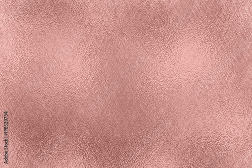 Leinwandbild Motiv Abstract background. Rose Gold foil texture.