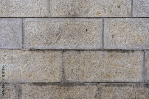 Foto op Plexiglas Baksteen muur Stadt Mauer Textur