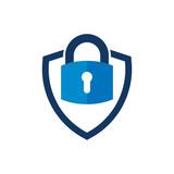 Security Shield Logo Icon Design - 198555564