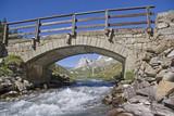 Steinbrücke im Val Veny
