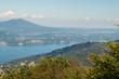 Vista sul Lago Maggiore dal Giardino Alpinia, Stresa, Lago Maggiore, Piemonte, Italia