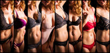 Different sets of women's lingerie - 198587503