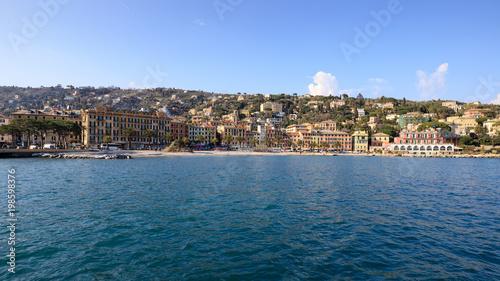 Fotobehang Liguria Santa Margherita Ligure
