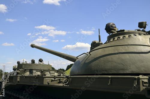 Foto op Plexiglas Kiev historical tanks of the Second World War