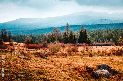 Foto op Plexiglas Pool Mountains