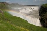 Wasserfall Gulfoss Island, Golden Circle