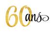 60 ans - signature