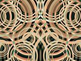 arrière-plan abstrait. Cercles - 198649750