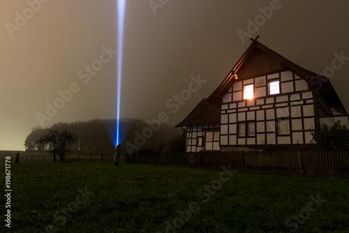 Plexiglas UFO Licht