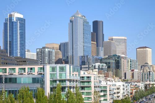 Seattle architecture. - 198691791