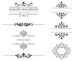 Vintage Text Frames and Dividers