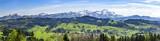 Appenzeller Land mit Alpstein-Massiv