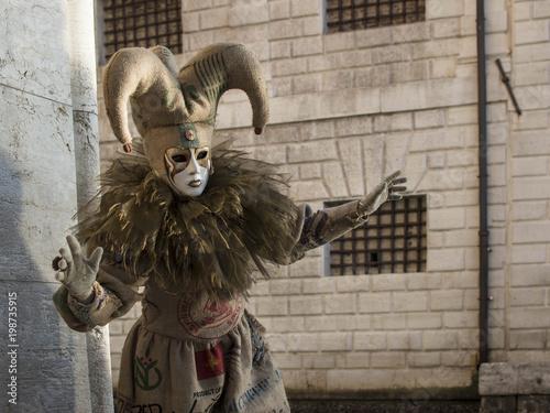 Fotobehang Venetie Venice Carnival - The Masks